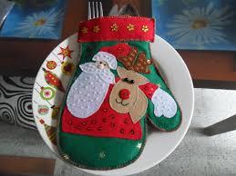 cubiertero navideño cubierteros navideños pinterest navidad
