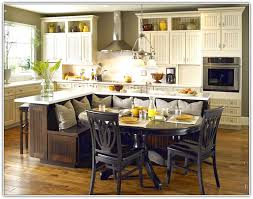 Kitchen Island With Seating For 5 Large Kitchen Island With Bench Seating Built In Images 86 For