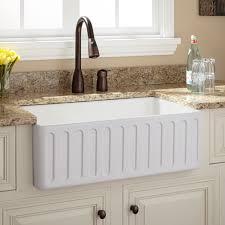 double faucet trough sink vanity stunning double faucet trough