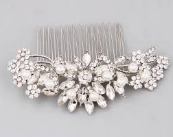 bridal hair combs bridal hair combs etsy