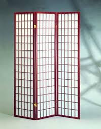 Room Divider Screens by Amazon Com Cherry 3 Panels Room Divider Screen With Rice Paper