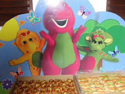 Barney Party Decorations Barney And Friends Themed Birthday Party Birthday Party Ideas