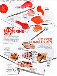 latina magazine spring beauty trend copper craze rms beauty