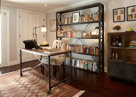 Home Office Decorating Ideas Alluring 60 Home Office Bookshelf Ideas Design Decoration Of Best