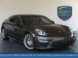 gray porsche panamera used 2014 porsche panamera turbo executive marietta ga