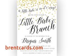 baby shower lunch invitation wording baby shower brunch invitation wording free card design ideas