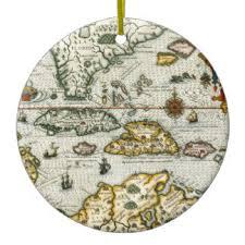 map of the caribbean ornaments keepsake ornaments zazzle