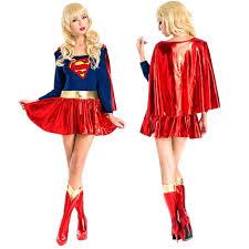 Girls Size Halloween Costumes Cheap Size Womens Superhero Costumes Aliexpress