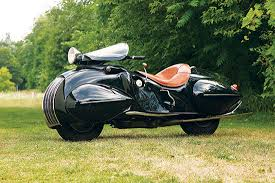 motorcycle art art deco henderson kj streamline model classic