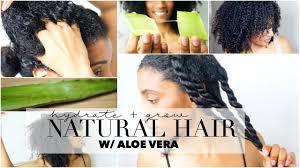 Natural Hair Growth Remedies For Black Hair How To Grow U0026 Hydrate Natural Hair Aloe Vera Oil Treatment Youtube