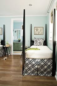 White And Blue Bedroom Gracious Guest Bedroom Decorating Ideas Southern Living