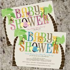 safari baby shower invitations ideas invitations ideas
