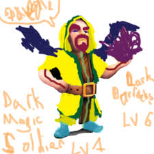 image for clash of clans image dark magic soldier lvl1 jpg clash of clans wiki fandom