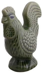 Animal Figurines Home Decor by Bulk Wholesale Ceramic Rooster U2013 6 6 U201d Hand Painted U0026 Textured In
