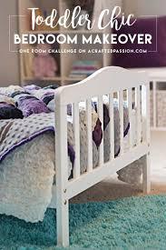 Montessori Bedroom Toddler A Darling Toddler Chic Bedroom Makeover Reveal