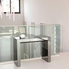Tavolino Salotto Ikea by Consolle Estensibile In Cristallo Glass Arredaclick
