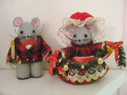mouse ornament felt collectible mumseysmousehouse on