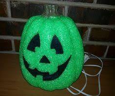 light up pumpkins for halloween purple halloween jack o lantern sparkling light up pumpkin ebay
