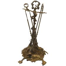 viyet designer furniture accessories vintage bronze metal