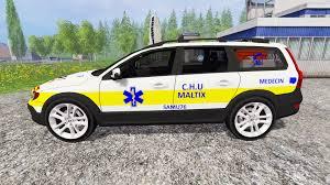 volvo minivan xc70 samu for farming simulator 2015