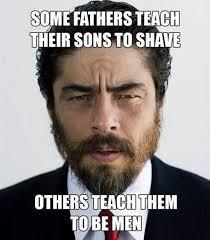 Meme Beard Guy - shaving meme