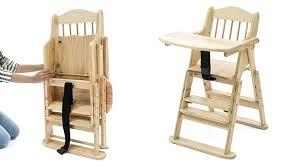 excellent wooden folding high chair u2013 novoch me