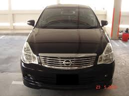 nissan sylphy sayez grooming nissan sylphy black 23 05 2010