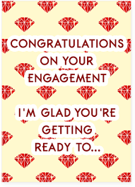Congratulations On Your Engagement Card Her Right In The Engagement Card With Sound U2013 Unwelcome