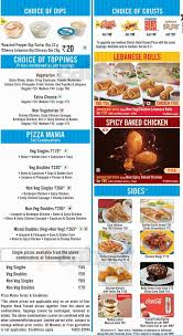Round Table Pizza Menu Prices by Domino U0027s Pizza Menu Online Menu For Domino U0027s Pizza Kalyan Nagar