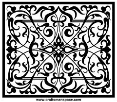 free ornament vectors rectangular shape 123freevectors