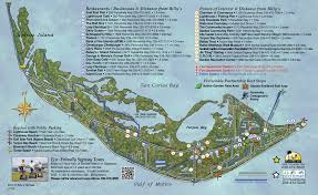 Florida Lighthouses Map by Sanibel Map