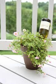 Diy Self Watering Herb Garden How To Water Plants While Away Water Plants Plants And Water