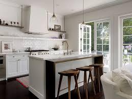 kitchen island hanging pot racks galley kitchen island kitchen transitional with white marble