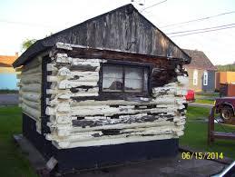 ishpeming backyard makeover old sauna to gambrel shed premium