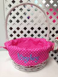 personalized wicker easter baskets 13 best easter baskets images on monogrammed easter