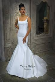 fishtail wedding dress a tailored mikado fishtail wedding dress with simple seam