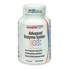 rainbow light advanced enzyme system rainbow light advanced enzyme system vcaps 90 ct from whole foods