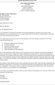 Sample Resume For Hr Assistant Human Resources Cover Letter Cover Letter Example 1