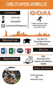 Resume For National Honor Society Graphic Resume