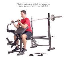 Leg Developer Bench Body Champ Olympic Weight Bench With Preacher Curl Leg Developer