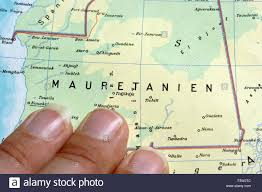 Map North Africa by Map Of Africa North Africa Mauretania Stock Photo Royalty Free