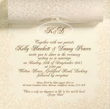 sle wedding invitation wording free sle wedding invitation 100 images wedding invitation card