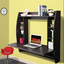 Computer Wall Desk Wall Mounted Desk Ebay