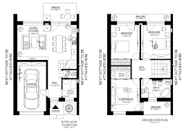 100 ground floor first floor home plan small low cost