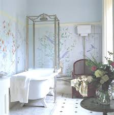 simple shabby chic bathrooms interior design for home remodeling