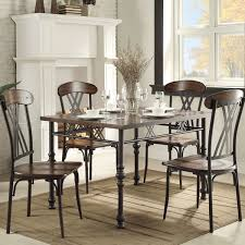 Two Tone Pedestal Dining Table Excellent Ideas Black Rectangle Dining Table Winsome Design Black