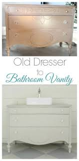 vintage dresser bathroom vanity lovely etc