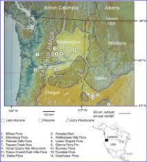 Opal Creek Oregon Map George E Mustoe Western Washington University Bellingham Wwu