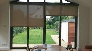 roman blinds for patio doors image collections glass door