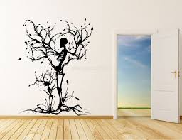 wall art designs awesome wall art trees canvas canvas tree wall popular vinyl wall art trees halloween theme spooky skeleton silhouette extraordinary new concept decoration